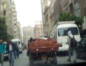 قارئ يشكو من انتشار عربات الكارو بشارع محمد فريد بمنطقة وسط البلد