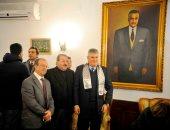 أبناء جمال عبد الناصر وسفير كوبا يحيون ذكرى ميلاد الزعيم الـ 101