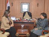 وزيرة الهجرة تشكر الإعلامية الكويتية عائشة الرشيد لدعمها الكامل لمصر