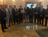 وزير الشباب والرياضة يستقبل أعضاء المكتب التنفيذى لرابطة النقاد الرياضيين
