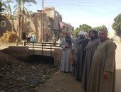 """صور.. قرية """"بنى إبراهيم"""" بأسيوط تنتظر تنفيذ مبادرة السيسي """"حياة كريمة"""""""