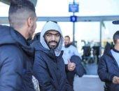 صور.. وصول بعثة الأهلى للجزائر استعدادًا لمواجهة شبيبة الساورة