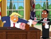 متحرش.. مسلسل الكارتون Family Guy يسخر من ترامب.. فيديو وصور