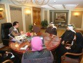وزير التعليم العالى يبحث أوجه التعاون التعليمى والبحثى والمعرفى مع الإمارات