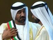 فوز أحمد بن سعيد رئيس دبى للطيران بوشاح محمد بن راشد فى جوائز التميز الحكومى
