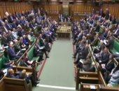 إخلاء البرلمان البريطانى بسبب إنذار بوجود حريق