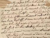 ـ قبل بيعها..  تعرف على الرسالة التى كتبها ملك إنجلترا ضد نابليون منذ 216 عاما