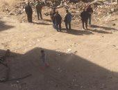 إستجابة لليوم السابع.. دفن كابلات كهرباء مكشوفة بجانب مدرسة 6 أكتوبر الإعدادية بعين شمس