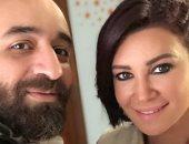 عمرو سلامة فى صورة مع أروى جودة: صديقتى فى الحياة وطليقتى فى الدراما