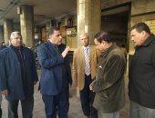 رئيس السكة الحديد يحيل مسئولين بمحطة مصر للتحقيق لإخلالهم بعملهم