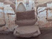 """صور.. """"ديلى ميل"""" تسلط الضوء على اكتشاف مقبرتين فى صحراء مصر"""