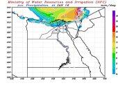 مركز التنبؤ بالفيضان: توقف سقوط الأمطار على السواحل الشمالية الجمعة المقبل