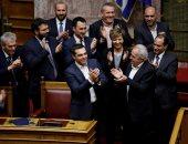 البرلمان اليونانى يمنح الثقة لحكومة رئيس الوزراء أليكسيس تسيبراس