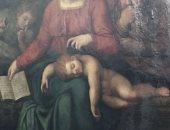 """سرقة لوحة """"العائلة المقدسة"""" من كنيسة بلجيكية.. هل تخص مايكل أنجلو؟"""