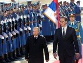 صور.. الرئيس الروسى فلاديمير بوتين يصل صربيا فى زيارة رسمية