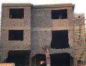 صور.. إزالة التعديات على المنطقة الأثرية بالهرم.. والآثار: هدم فندق قريبًا