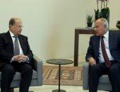 أبو الغيط يعرب فى لقائه مع رئيس لبنان عن تطلعه إلى نجاح قمة بيروت