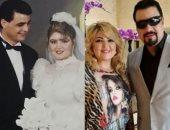 تحدى الـ10 سنوات.. رسائل حب بين مها أحمد ومجدى كامل على صورة زفافهما
