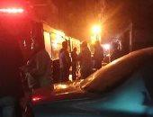 """مصرع طفل و إصابة 2 فى حريق داخل """" سايبر """" فى مدينة السلام"""