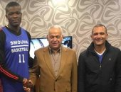 سموحة يدعم فريق السلة بالمحترف الأمريكى ''اوجستين''