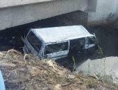 إصابة 14 شخصًا بحادث انقلاب سيارة ميكروباص فى الرشاح بشبرا الخيمة
