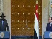 السيسي: مصر حريصة على تقوية العلاقات مع جنوب السودان ودعم استقراره