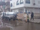 استقرار حالة الطقس بدمياط.. وترميم خسائر منطقة اللسان والفنار
