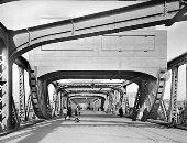 قصة صورة.. 107 أعوام على بناء كوبرى أبو العلا على يد الفرنسى جوستاف إيفل