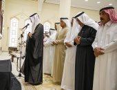 حاكم رأس الخيمة يشارك فى تشييع جثمان نورة بنت حميد بن محمد القاسمى