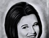 قارئ من المنيا يشارك اليوم السابع لوحاتة الفنية: حلمى وصول فنى للجميع