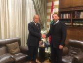 أبو الغيط يؤكد دعمه لجهود الحريرى نحو تشكيل الحكومة فى لبنان