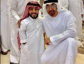 """محمد بن زايد يقابل """" الربع """" فى إحدى المناسبات .. اعرف قصته؟"""