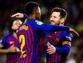 برشلونة ضد ليفانتى.. البارسا يتأهل لربع النهائى كأس إسبانيا