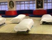 بسبب الطقس البارد.. وجبات ساخنة للمشردين فى ملعب كريستال بالاس