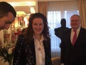 صور.. الملك أحمد فؤاد يستقبل خطيب ابنته الأميرة فوزية استعدادا لعقد القران