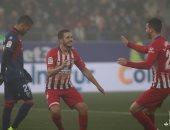 أتلتيكو مدريد يتخطى هويسكا بثلاثية ويضيق الخناق على برشلونة.. فيديو