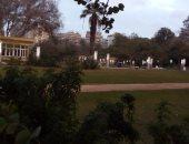 قارئ يشارك بصور مضاءة لأعمدة لإنارة الميريلاند صباحا