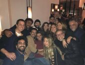 ياسمين عبد العزيز تحتفل بعيد ميلادها مع أصدقائها وكوكبة من النجوم × 20 صورة