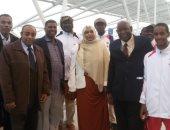 وصول الوفود العربية للمشاركة في مهرجان الدراجات تحت سفح الأهرامات