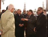 محافظ القاهرة يتفقد أعمال تطوير ميدان السيدة عائشة