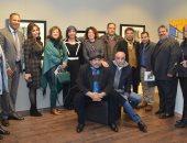 """صور.. معرض """"مانيفستو"""" بـ جاليرى بيكاسو يؤكد: الفنانون أصحاب رسالة"""