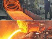 """""""الحديد والصلب"""": 225 مليون جنيه توفير متوقع بعد تخفيض سعر الغاز للمصانع"""