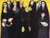 تعرف على 9 معارض للفنان السورى لؤي كيالي بعد احتفاء جوجل بميلاده
