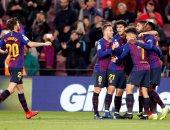 برشلونة ضد ليجانيس.. البارسا يتفوق بهدف ديمبلى فى الشوط الأول.. فيديو