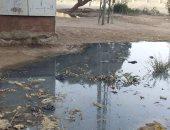 قارئ يشكو تراكم المياه الجوفية بجانب محول كهرباء بنجع العرب بالأقصر