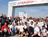 وزيرة الهجرة فى ماراثون شباب مصر بالخارج لصالح مستشفى شفاء الأورمان بالأقصر