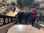 رئيس جامعة الأزهر يتابع أعمال تطوير فرع البنات