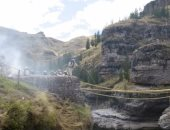 في بيرو.. تعرف على جسر ينسج يدويا كل عام