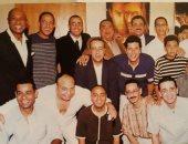 بعد 18 عاما.. صورة من العرض الخاص لفيلم أفريكانو بينهم الراحل علاء ولى الدين