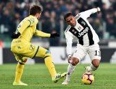 يوفنتوس يضرب كييفو بثنائية فى الشوط الأول بالدوري الإيطالي.. فيديو